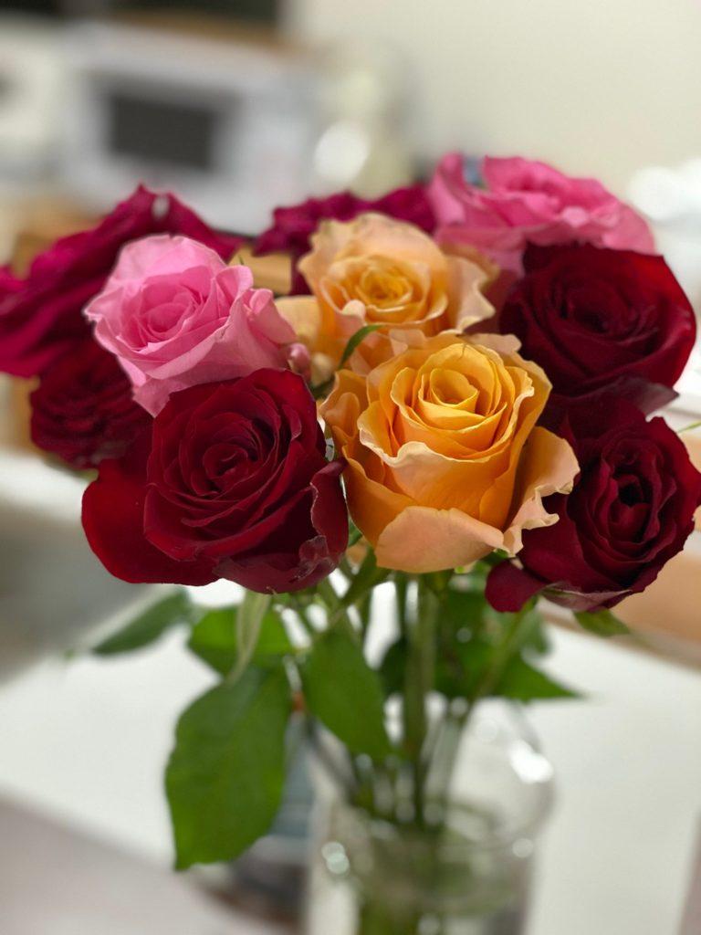 お花の定期宅配「フラントリーブ」初回特典高級バラ