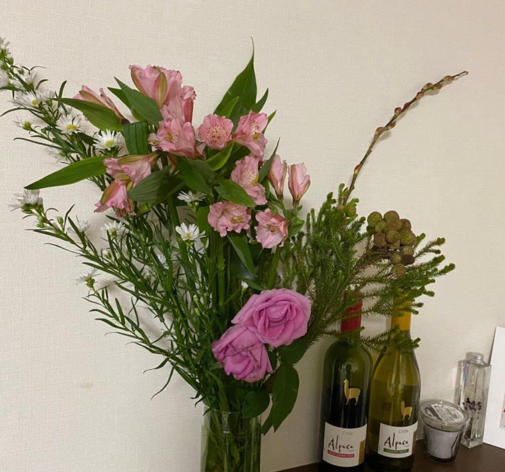お花の定期宅配「フラントリーブ」2回目のお花