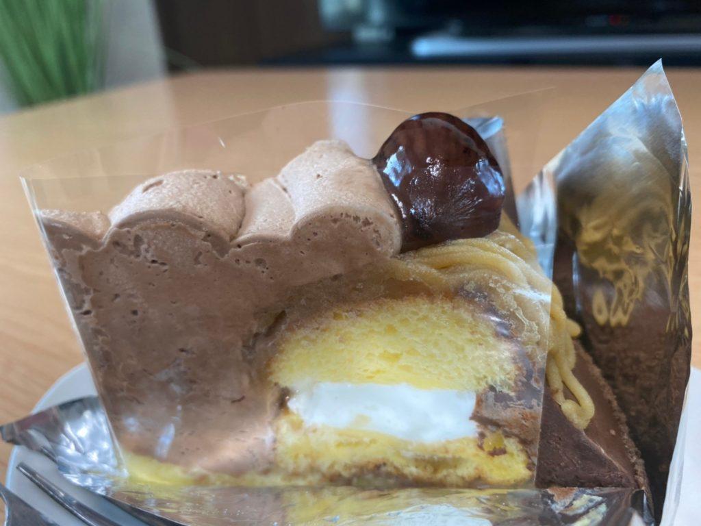 ケーキ工房「アンダンテ」栗のモンブラン